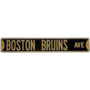 Boston Bruins NHL Hockey Boston Bruins Ave Authentic Street