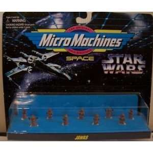 Star Wars Micro Machines Jawas Figure Collection Toys & Games