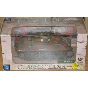 M4A3 Classic Tank 132 Scale Metal Die Cast Everything