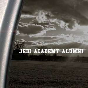 Jedi Academy Decal Star Wars Luke Window Sticker