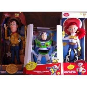 Disney Toy Story BUZZ Woody & Jessie Talking Dolls  Toys & Games