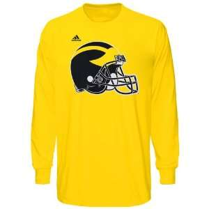 NCAA adidas Michigan Wolverines Second Best Long Sleeve T
