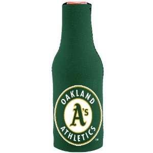 MLB Oakland Athletics Green Neoprene Bottle Coozie Sports