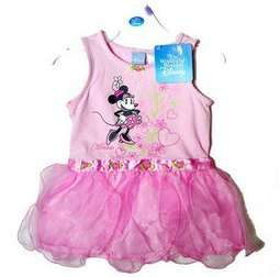 NWT Disney Minnie Mouse Dance Ballet Leotard 12M 3T