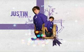 Justin Bieber Laptop Netbook Skin Cover Sticker