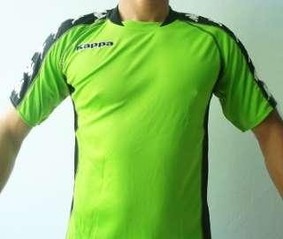 KAPPA Mens Football Soccer Jersey Shirt Green M L XL