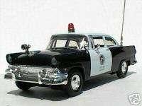 LAPD 1956 FORD TUDOR SEDAN POLICE CHIEFS PATROL CAR   FIRST GEAR