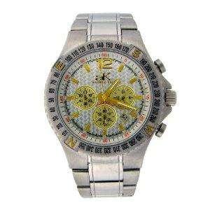 Adee Kaye Mens Chronograph White Watch AK4001 7MB