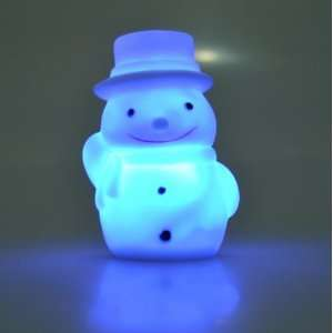 Decorate 7 Colors LED Change Color Lamp Night Light Christmas Gift