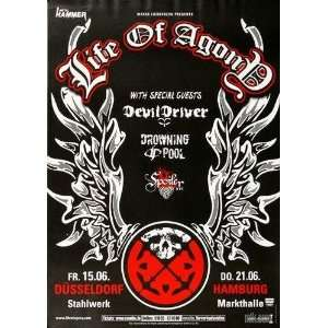 Life of Agony   Live in 2007   CONCERT   POSTER from
