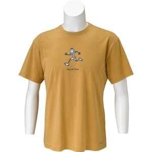 Life is Good Mens Good Run Crusher T Shirt  Sports