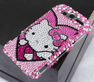 Hello Kitty Diamond Skin Case Cover For HTC Mytouch 4G