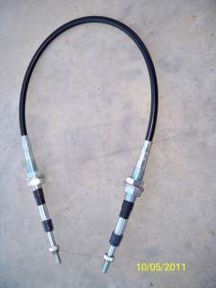NEW KOMATSU D21 TRANSMISSION SHIFT CABLE, FORWARD/REVERSE, DOZER