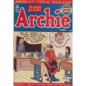 Comics   Archie #38 Comic Book (Jun 1949) Very Good