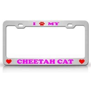 I PAW MY CHEETAH Cat Pet Animal High Quality STEEL /METAL
