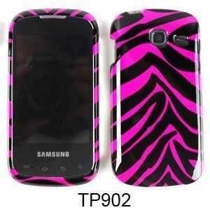 Pink and Black Zebra Stripe Pattern for Samsung Transfix