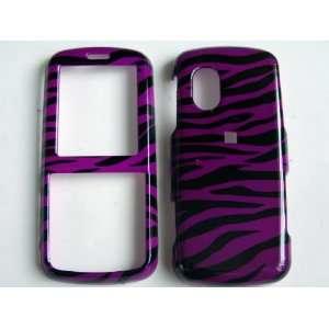 New Purple and Black Zebra Stripe Pattern Design Samsung