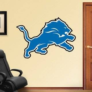 Fathead Detroit Lions Helmet Wall Decal