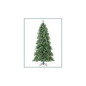 Slim Regency Evergreen Pre Lit Artificial Christmas Tree Multi color