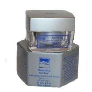 Anti Aging Facial Scrub Cream by Dead Sea Spa Care Beauty