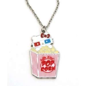 Necklace   Hello Kitty   Sanrio 3D PopCorn Cell Phones & Accessories