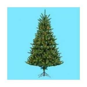 Montana Fir Decorative Christmas Tree   Clear Lights