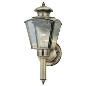 Westinghouse 66846   1 Light Antique Solid Brass Wall Standard Light