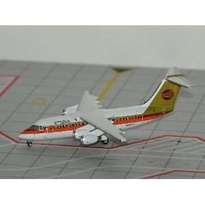 Jet X Continental Express BAe 146 Model Airplane