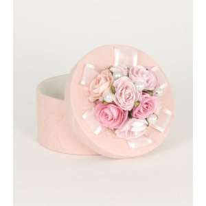 Glenna Jean Lucy Small Pink Rose & Pearl Box Baby