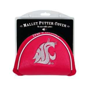 Washington State Cougars Mallet Golf Putter Cover   Golf