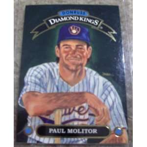 1992 Donruss Paul Monitor MLB Baseball Diamond Kings Card