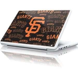 San Francisco Giants   Cap Logo Blast skin for Apple MacBook 13 inch