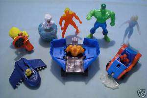 McDonalds 1996 Marvel Super Heroes Complete Set of 8