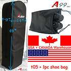 T05 travel Golf Bag black plane +cary pouch shoes bag