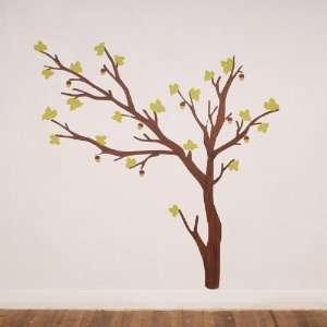 Build a Tree Dark Fabric Wall Decals