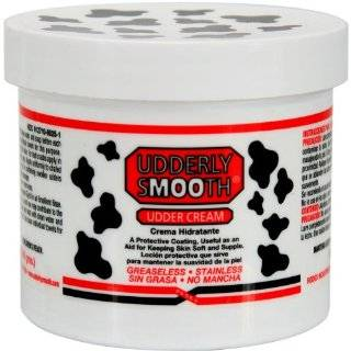 Udderly Smooth Udder Cream, Skin Moisturizer, 12 Ounce Jar