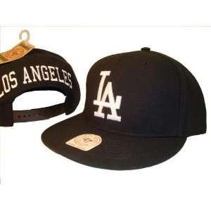 Los Angeles Dodgers Black & White Adjustable Snap Back Baseball Cap