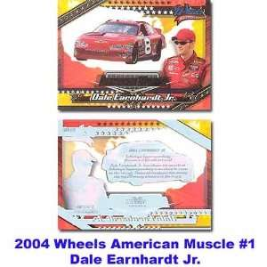 Wheels American Muscle 04 Dale Earnhardt Jr. Premier Card