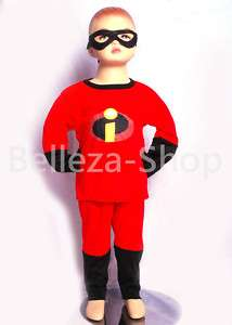 HALLOWEEN Party THE INCREDIBLES Cosplay Costume SZ 2T 7