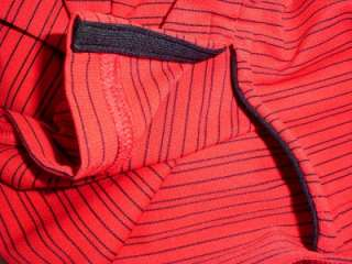 NWT Under Armour HeatGear Polo Shirt Mens $55 Red Black Striped UPF 30