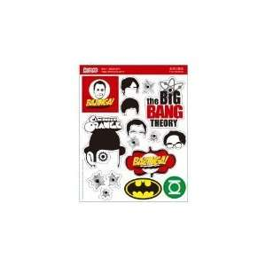 Sticer/Decal Small    the Big Bang Theory Cell Phones & Accessories