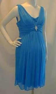 New White Roman Maternity Dress 3X Plus Bridal Wedding 48 Bust Formal