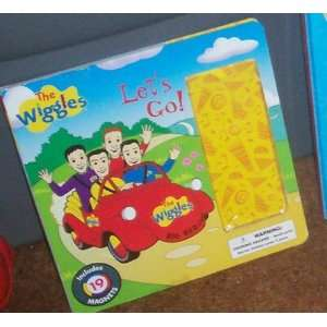 The Wiggles Lets Go Book Big Red Car