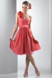 Short Pretty Wedding Bridesmaid Dress Prom Ball Gown Custom Size U297