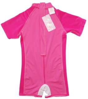 Pink Kids Girls Kitty One Piece Swimsuit Swimwear 86102