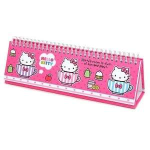 Sanrio Hello Kitty Scheduler / Memo Pad  Pink