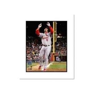 Albert Pujols St Louis Cardinals MLB Double Matted