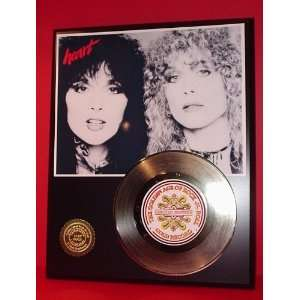 Gold Record Outlet Heart 24KT Gold Record Display LTD