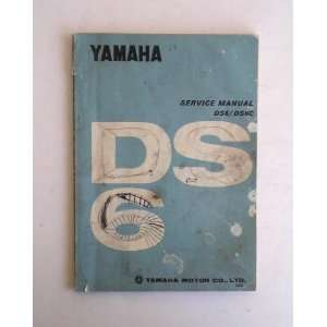 Yamaha DS6/DS6C Service Manual 1969 Yamaha Motor Co. Books
