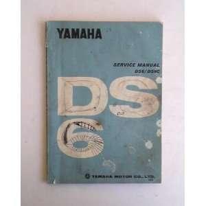 Yamaha DS6/DS6C Service Manual 1969 Yamaha Motor Co. Books